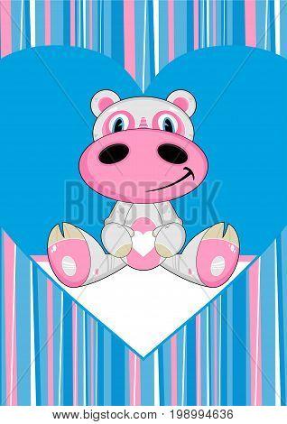 Cartoon Hippo 12
