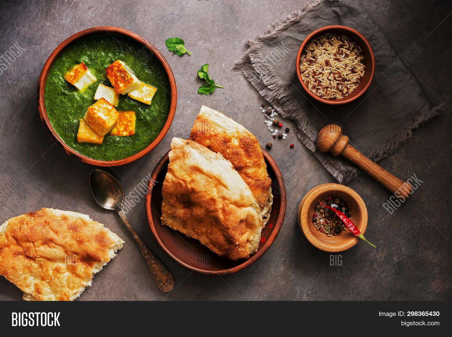 Incredible Palak Paneer Spinach Image Photo Free Trial Bigstock Home Interior And Landscaping Analalmasignezvosmurscom