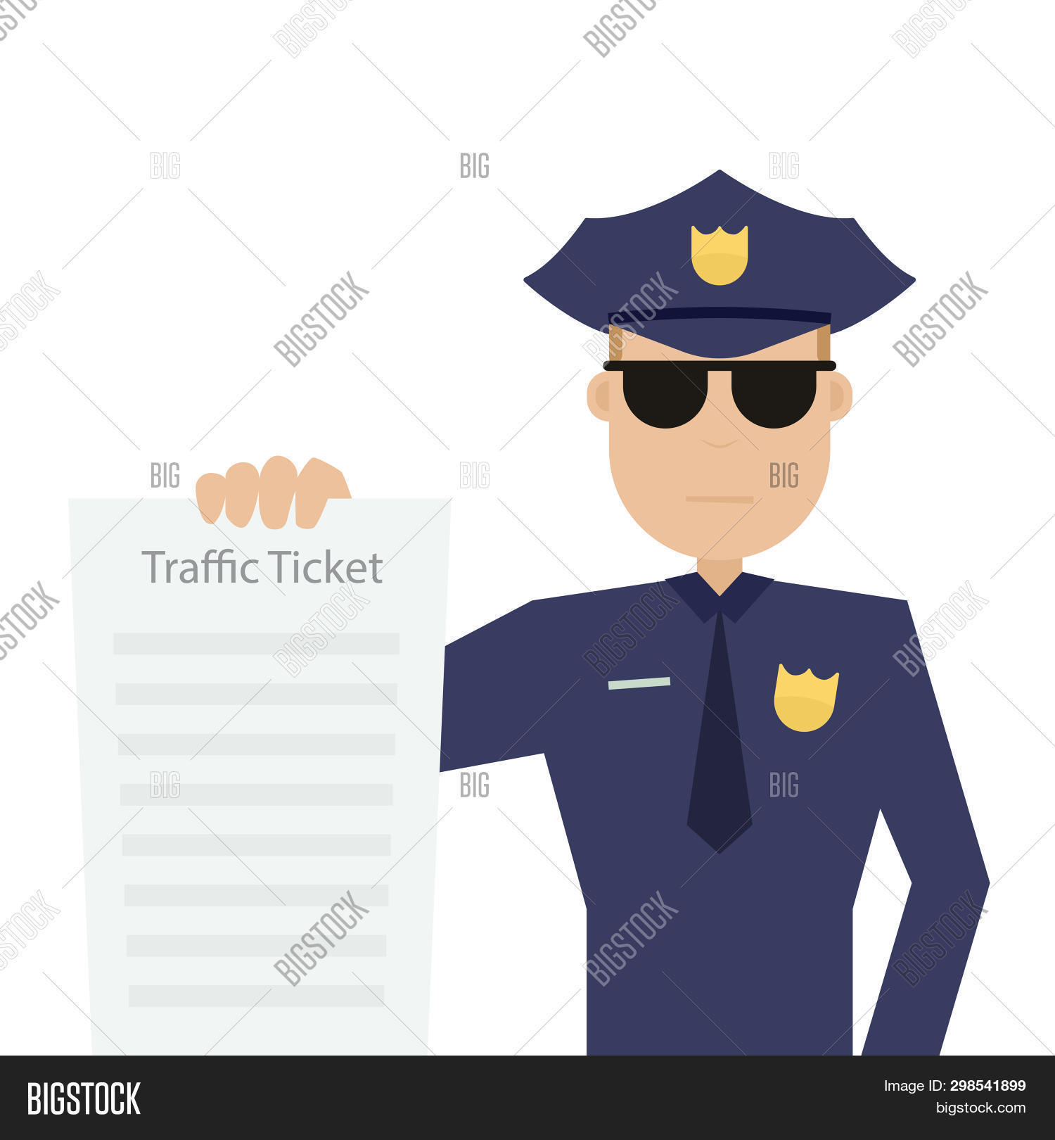 Road Patrol Officer Image & Photo (Free Trial) | Bigstock