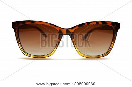Stock Photo Sunglasses Isolated Against A White Background