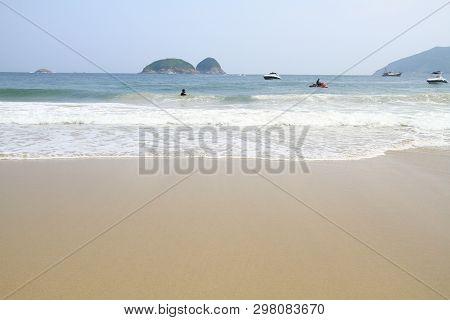 Ham Tin  At Sai Kung Summer Day