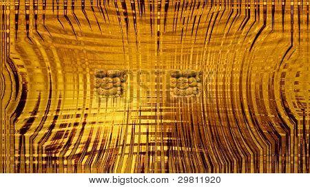 Abstract Mayan Calender