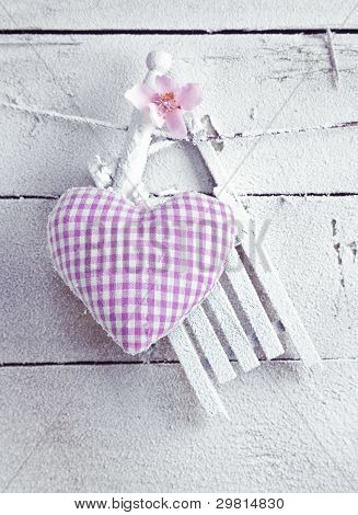 Rustic Heart For Valentine