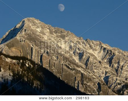 Banff Moonrise