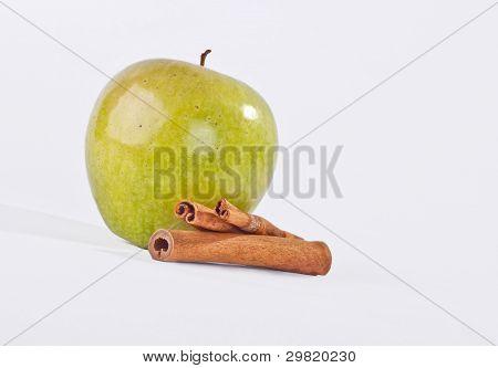 Apel und Zimt