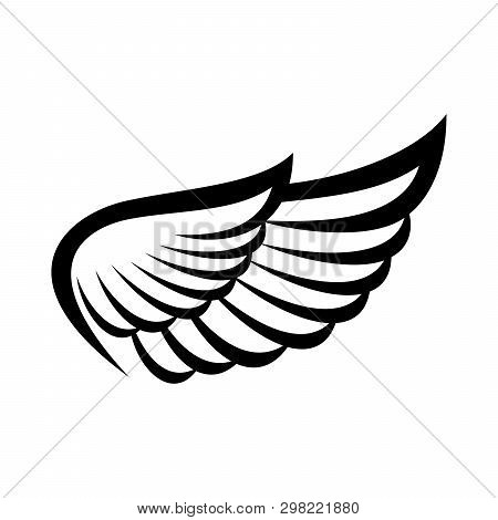 Wing Icon, Wings Logo, Wing Icon Vector, Wing Logo Company, Icon Wing Flying, Eagle Wing Brand And L