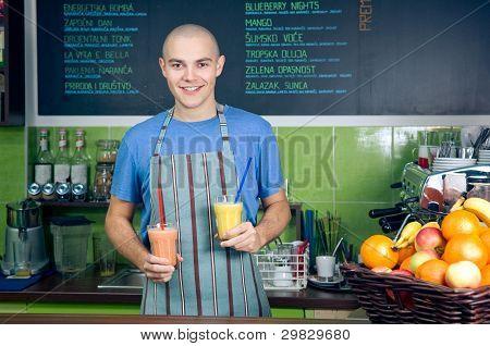 Smoothie Bar Owner Or Bartender