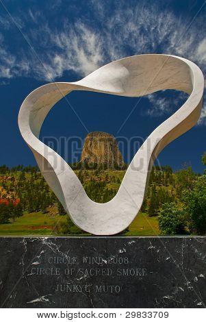 Circle Of Sacred Smoke Sculpture