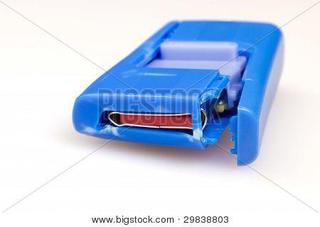 Damaged USB flash pen drive