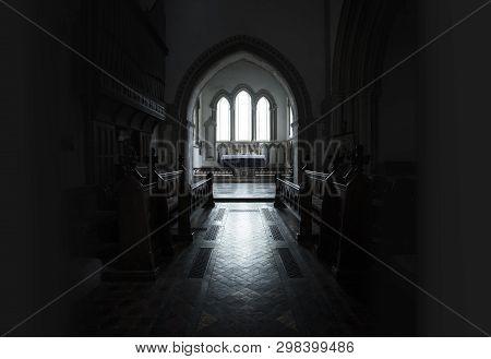 Interior Of Saint Lawrence Church, Castle Rising, Norfolk, United Kingdom - 13th December 2015