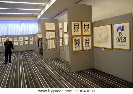 Denmark_john Lennon Drawing Exhibitions