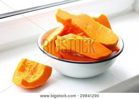 cooking pumpkin