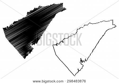 Calaveras County, California (counties In California, United States Of America,usa, U.s., Us) Map Ve