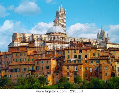Catedral Di Santa Maria, Siena, Italy