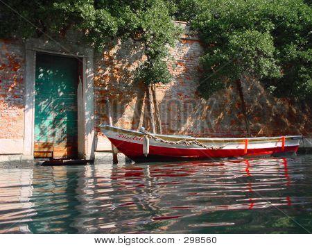 Boat. Venice, Italy.