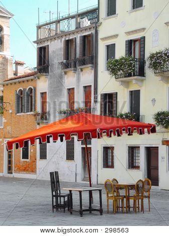 Umbrella. Venice Italy