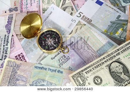 Compass on Travel Money