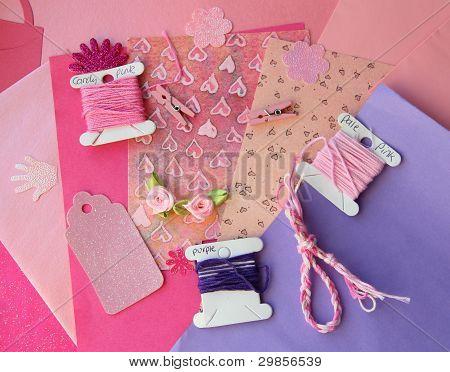 St. Valentine's Card Making Set