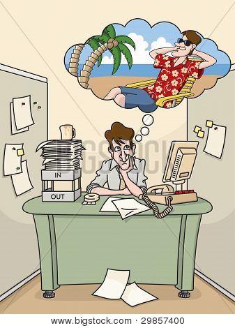 Office Daydream