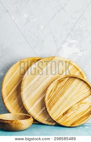 Variety Of Wooden Bowl, Wooden Spoons