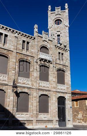 Ancient Building Of Correos