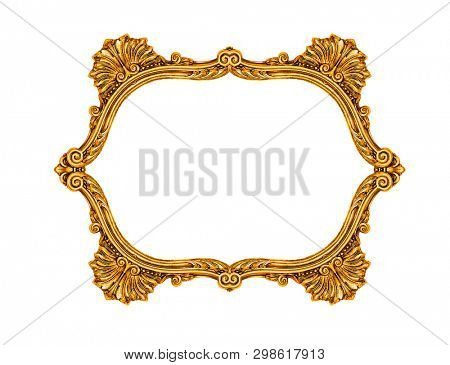 Frame isolated on white background, including clipping path