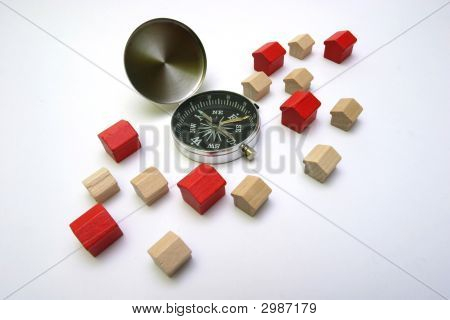 Little Houses With A Compass