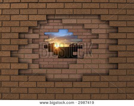 Wall Sunset
