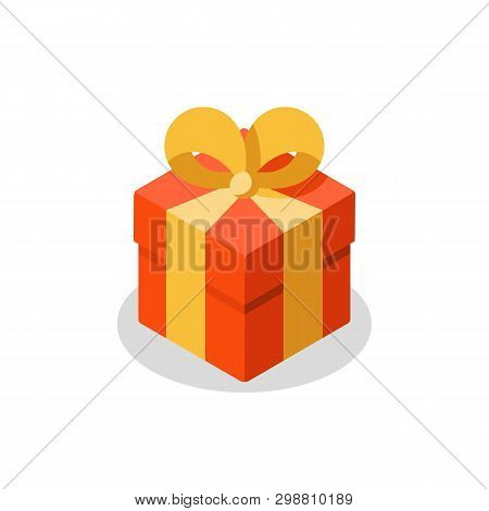 Surprising Gift Red Vector Photo Free Trial Bigstock
