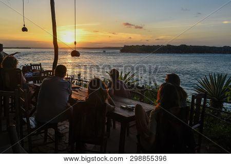 Sunset On Lake Guaraira Near Pipa, Brazil