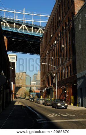 Street In Brooklyn New York