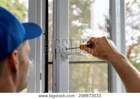 Plastic Pvc Window Installing And Maintenance Service