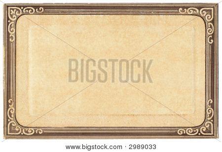 Old Postcard Frame