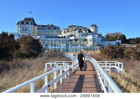 Lonesome Winter Boardwalk