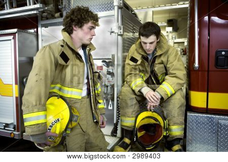 Two Young Firemen