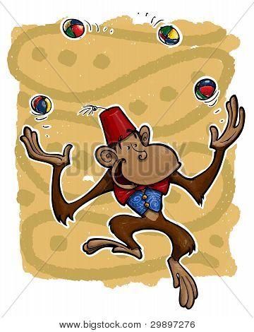 Joggling Monkey