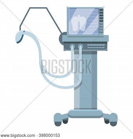 Health Ventilator Medical Machine Icon. Cartoon Of Health Ventilator Medical Machine Vector Icon For