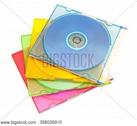 Color Boxes With Disks For Information Storage