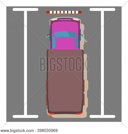 Freight Car Icon. Isometric Illustration Of Freight Car Vector Icon For Web