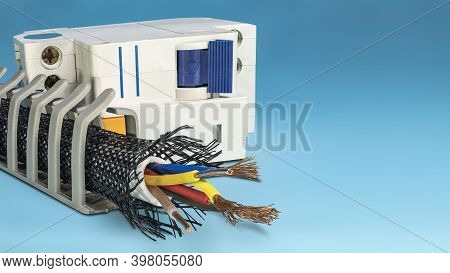 Cable Trays. Cable Routing System. Cable Insulation And Braid. Electrician. Circuit Breaker. Copy Sp