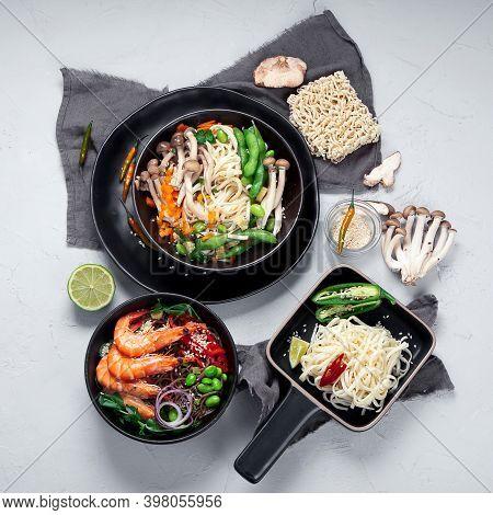 Various Of Asian Meals