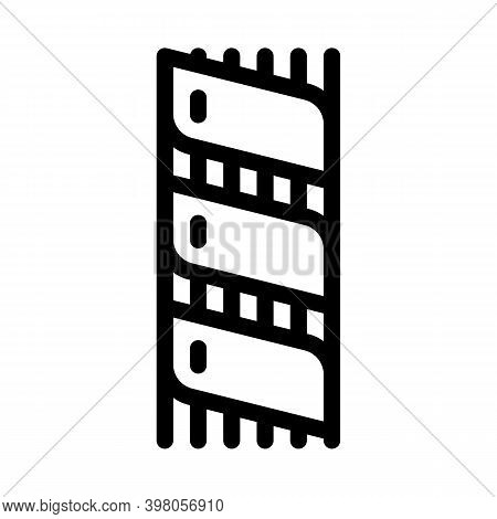 Optical Fiber Insulation Black Icon Vector. Optical Fiber Insulation Sign. Isolated Symbol Illustrat