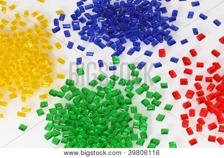 several transparent polymer resins