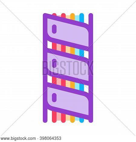 Optical Fiber Insulation Color Icon Vector. Optical Fiber Insulation Sign. Isolated Symbol Illustrat