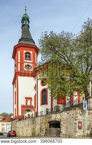 Roman Catholic Parish Church In Loket, Czech Republic