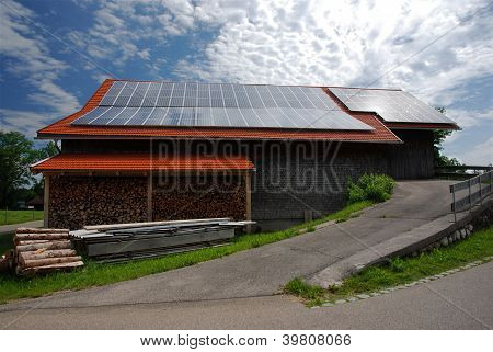 Photovoltaic on roof