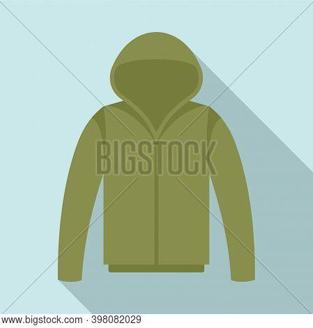 Fisherman Sweater Icon. Flat Illustration Of Fisherman Sweater Vector Icon For Web Design
