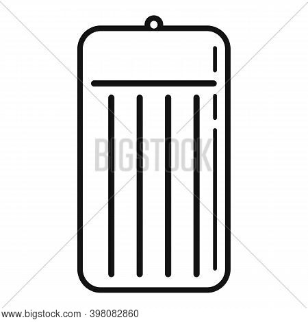 Pool Inflatable Mattress Icon. Simple Illustration Of Pool Inflatable Mattress Vector Icon For Web D