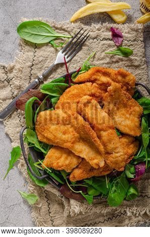Chicken Chnitzel Breaded