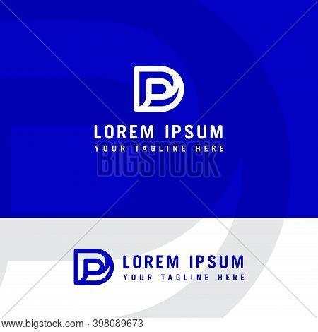 Initial Letter Logo Pd, Dp, Logo Template